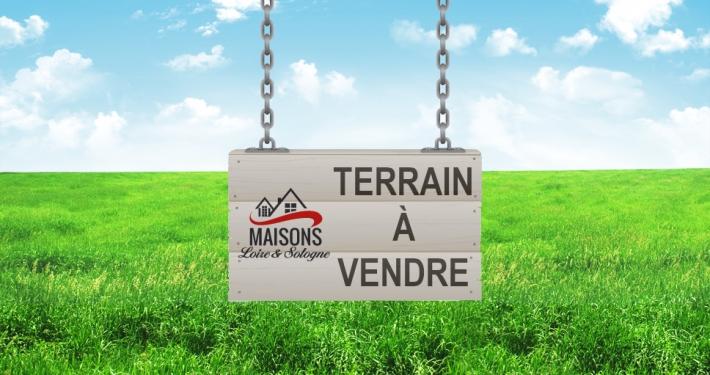 Terrain à construire. À vendre par Maisons Loire & Sologne